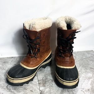 Sorel Caribou Wool Waterproof Boots
